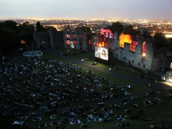 Flatpack Cinema presents Beetlejuice, Dudley Castle - review with pictures