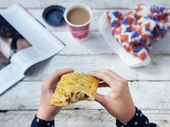 There's a website counting down the return of the Greggs Festive Bake