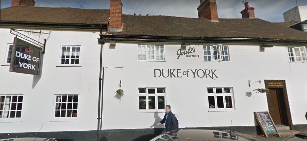 The Duke of York in Lichfield. Photo: Google Maps