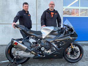 Team Prinicpal Paul Curran, right, and Alan Garner, a founder of OMG Racing, have a busy season ahead