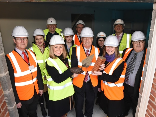 Ceremony marks spring opening of Kingswinford care home