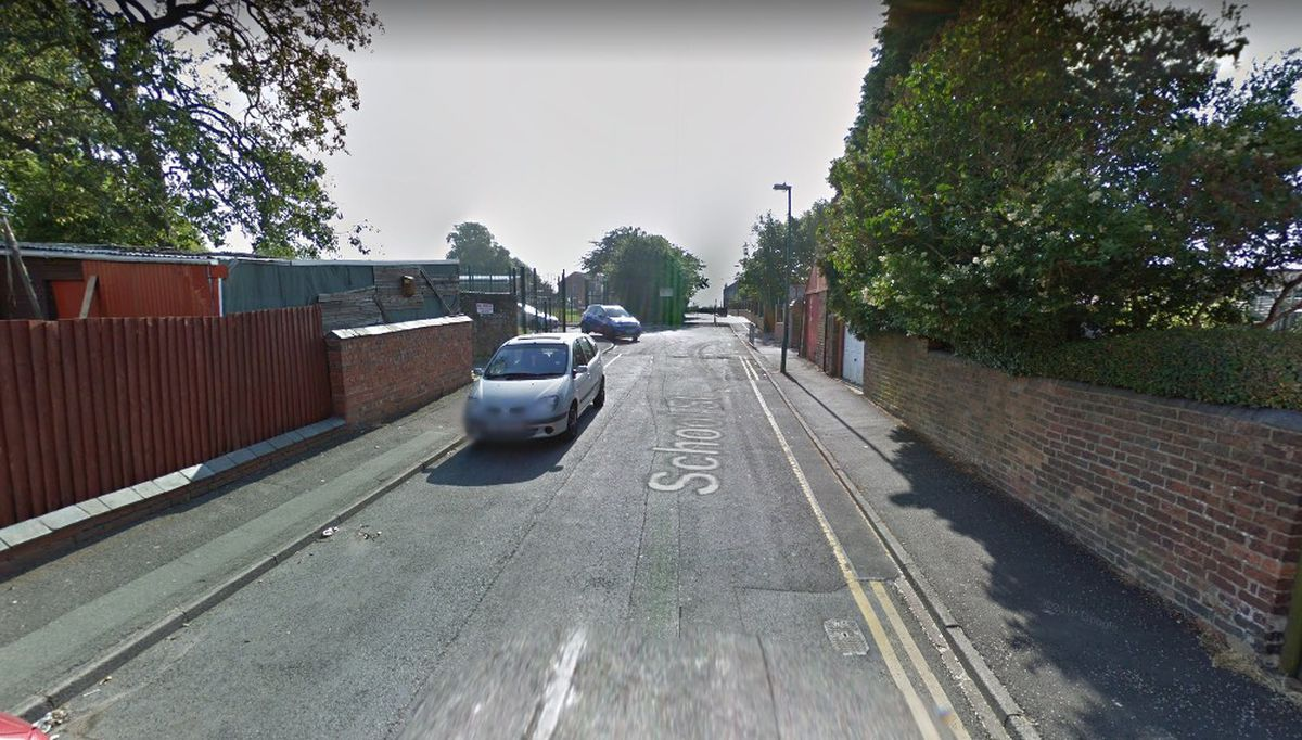 The incident happened near School Street, in Dudley. Photo: Google Street View