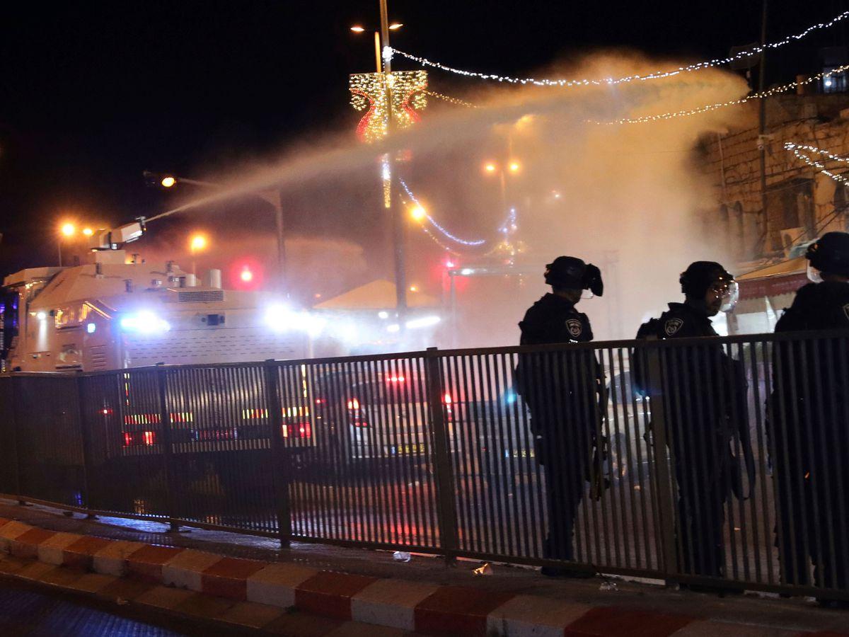 Police in Jerusalem