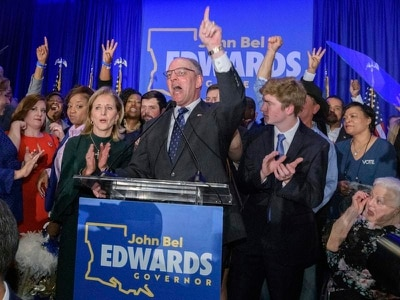 Democrats hold on to Louisiana governor's seat despite Trump's best efforts