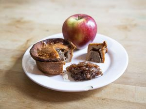 A delicious pork pie from Carter's of Moseley