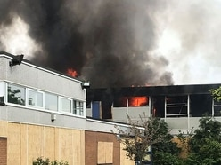 Suspected arsonists start blazes at former school and golf club in Stourport - with VIDEO