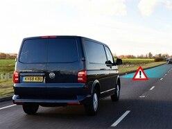 Van drivers injure 10 people every week by tailgating