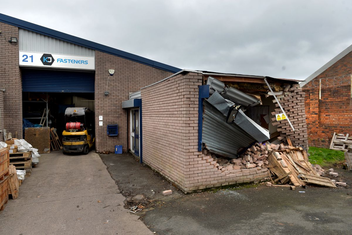 Unit 21, called KF Fasteners, was left damaged in the incident