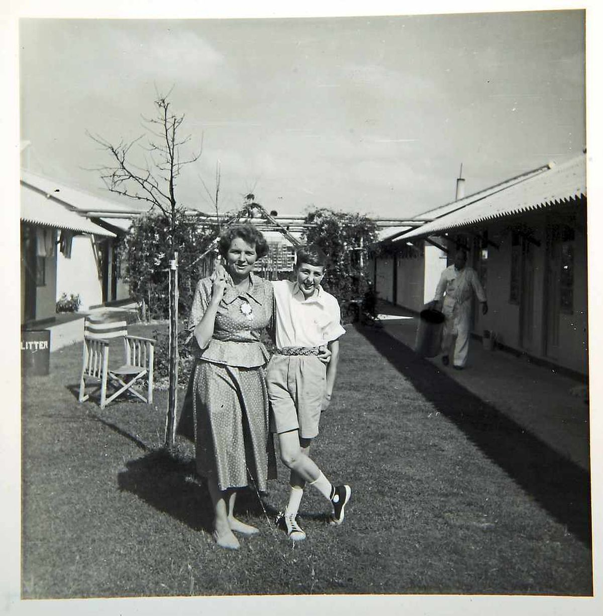Eric Idle and his mum Nora from around early 1965's