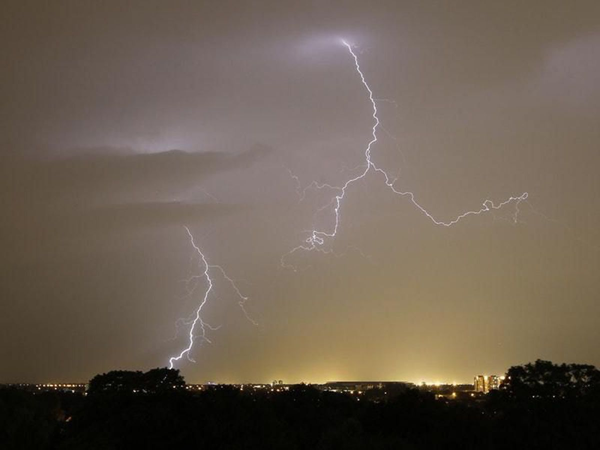 Thunderstorms are expected to make a dramatic return on Thursday