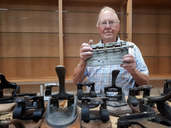 Lichfield man selling lifetime collection of hole punches