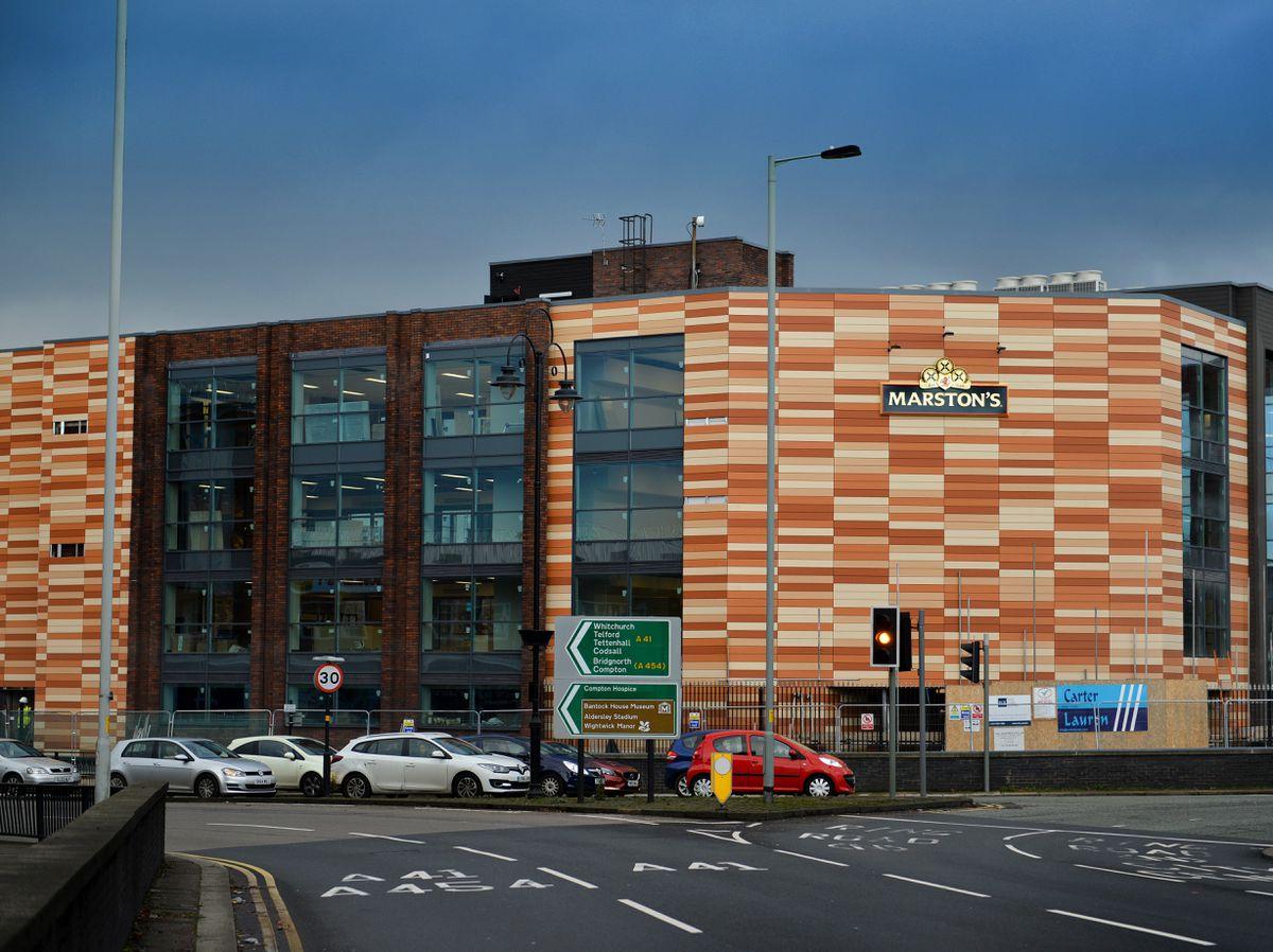 Marston's headquarters in Chapel Ash, Wolverhampton