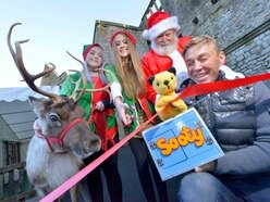 Wolverhampton panto stars Richard Cadell and Sooty open Dudley Zoo grotto - with pictures and video