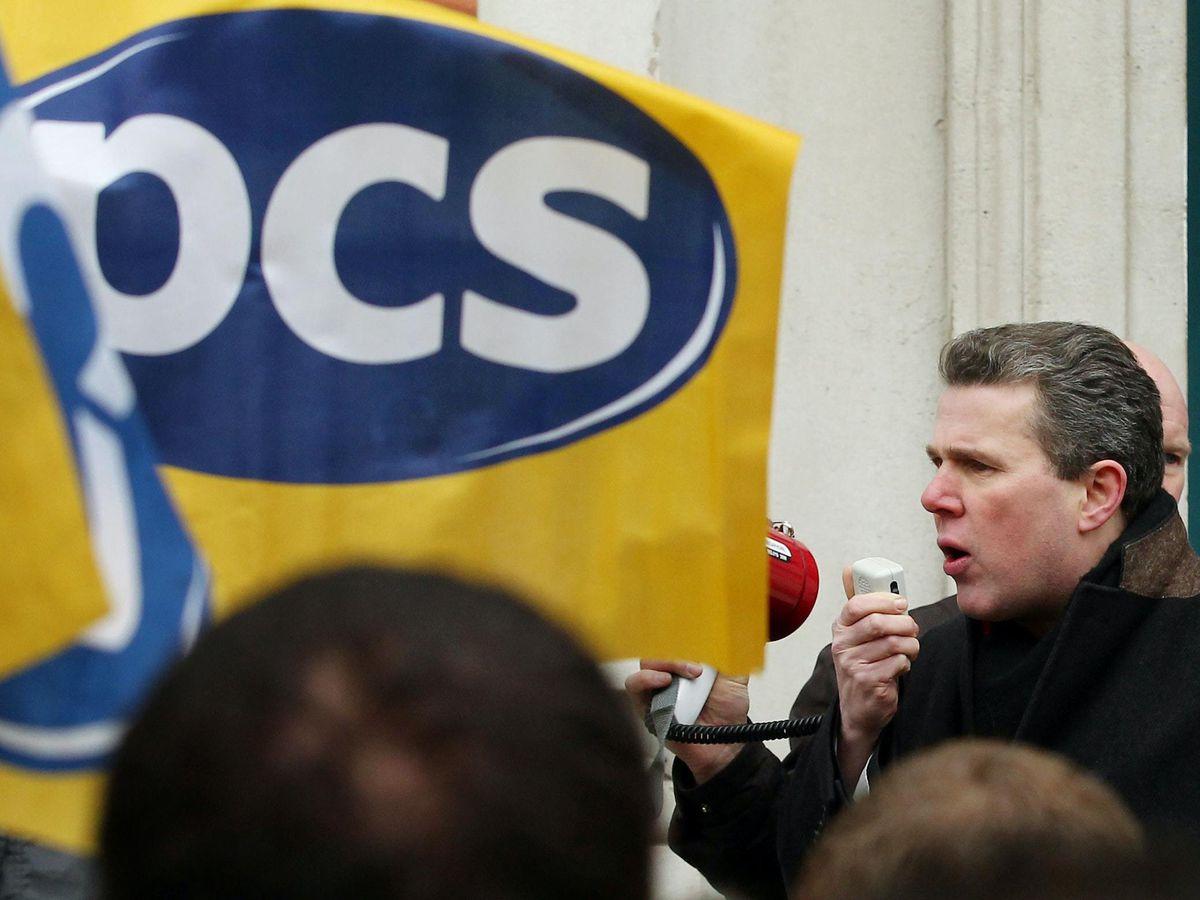 PCS union leader Mark Serwotka