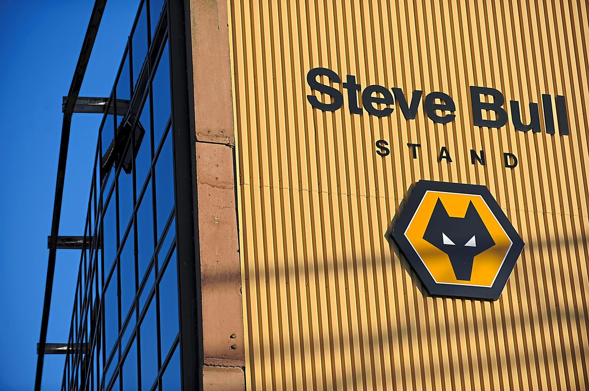 The Steve Bull stand at Molineux Stadium home of Wolverhampton Wanderers (AMA)