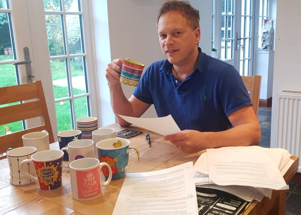 Grant Shapps – carefully contrived chaos