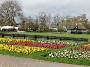 Victoria Park in Stafford. Photo: Kerry Ashdown