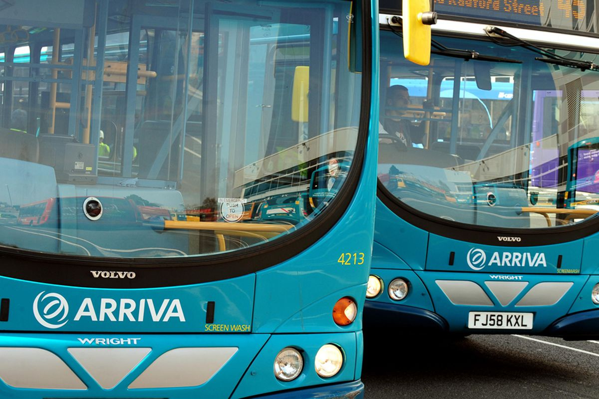 Arriva bus services cancelled in Stafford