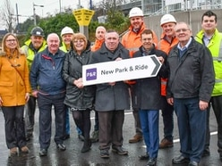 Free car park at Bradley tram stop finally opens