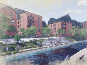 Artist impression of the proposed Union Mill development in Wolverhampton. PIC: JM Architects