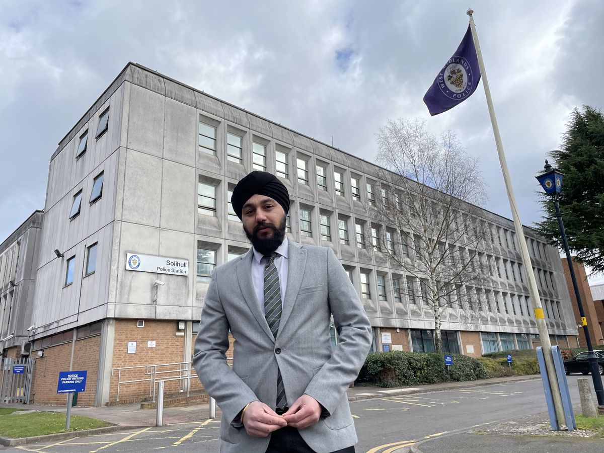 Conservative candidate for West Midlands PCC Jay Singh-Sohal
