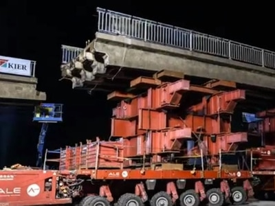 WATCH: Amazing footage of Stafford M6 bridge on the move
