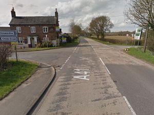 The A41 at Hinstock. Photo: Google.