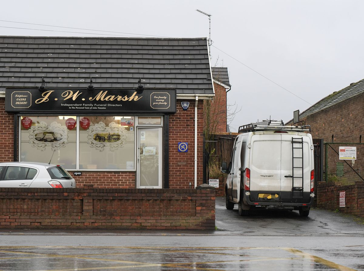The funeral directors was targeted on Tuesday by burglars (Image by SnapperSK)