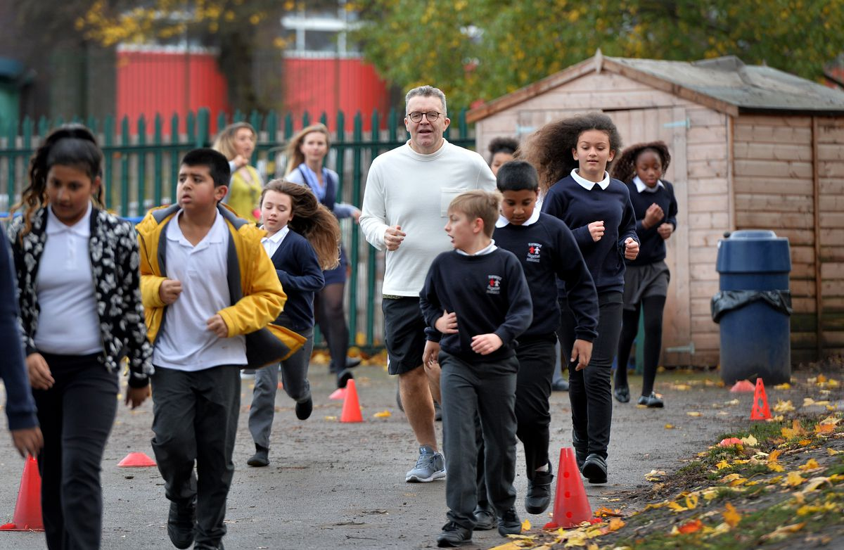 Tom Watson at Hargate Primary School
