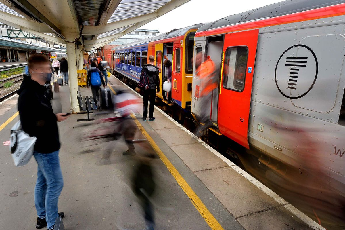 Passengers are returning to trains after spending most of last 18 months at home or in their cars