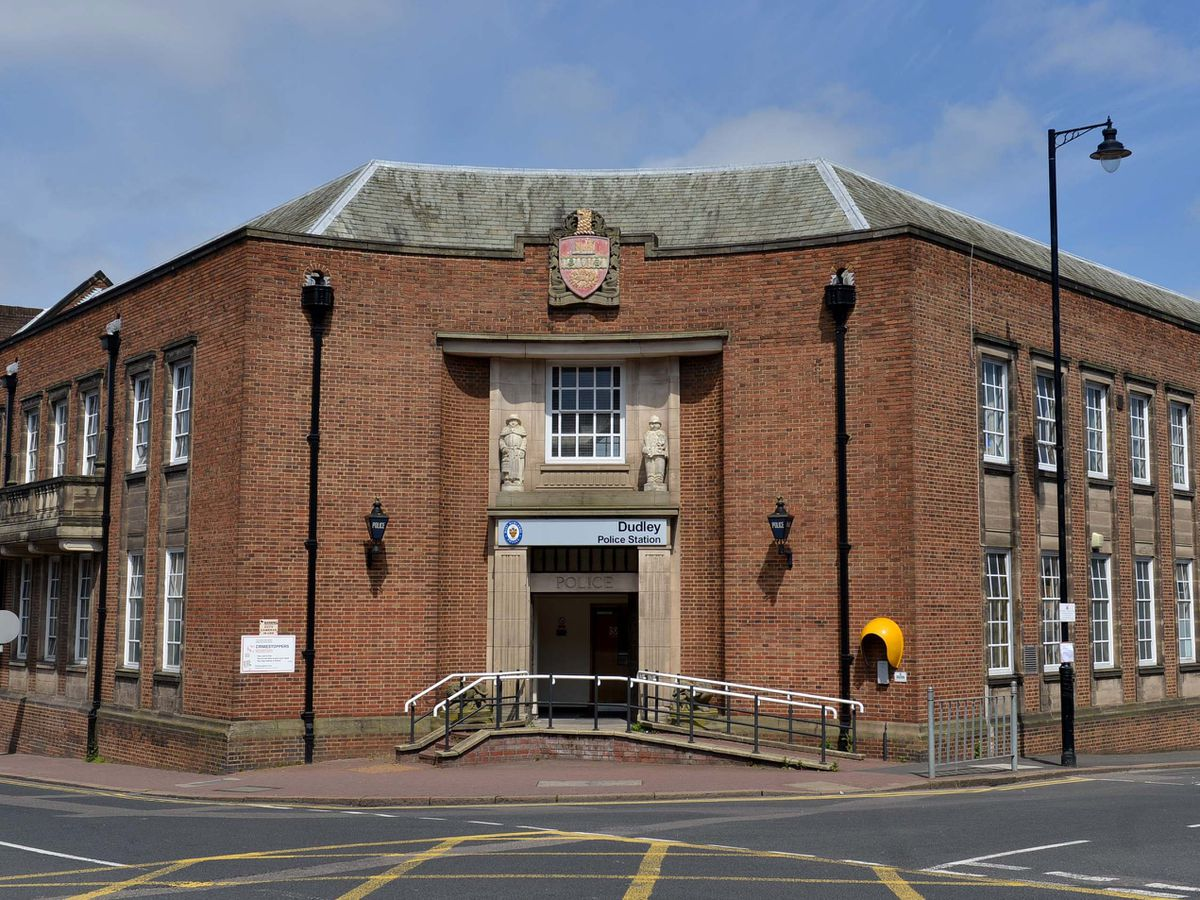 Dudley's police station in New Street closed in 2017