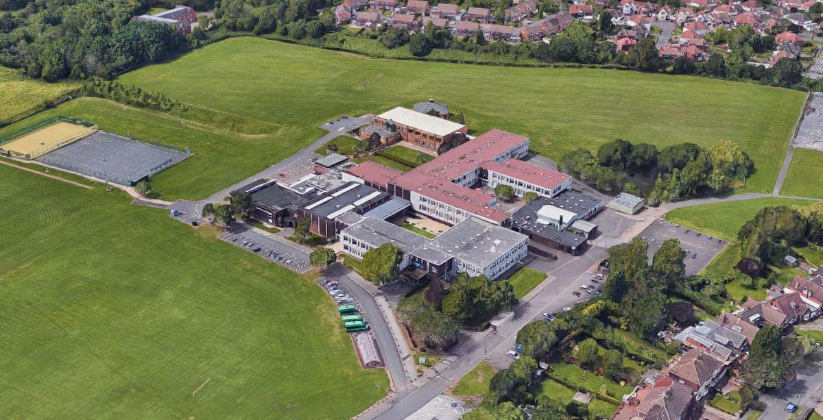 Colton Hills Community School in Wolverhampton. Photo: Google