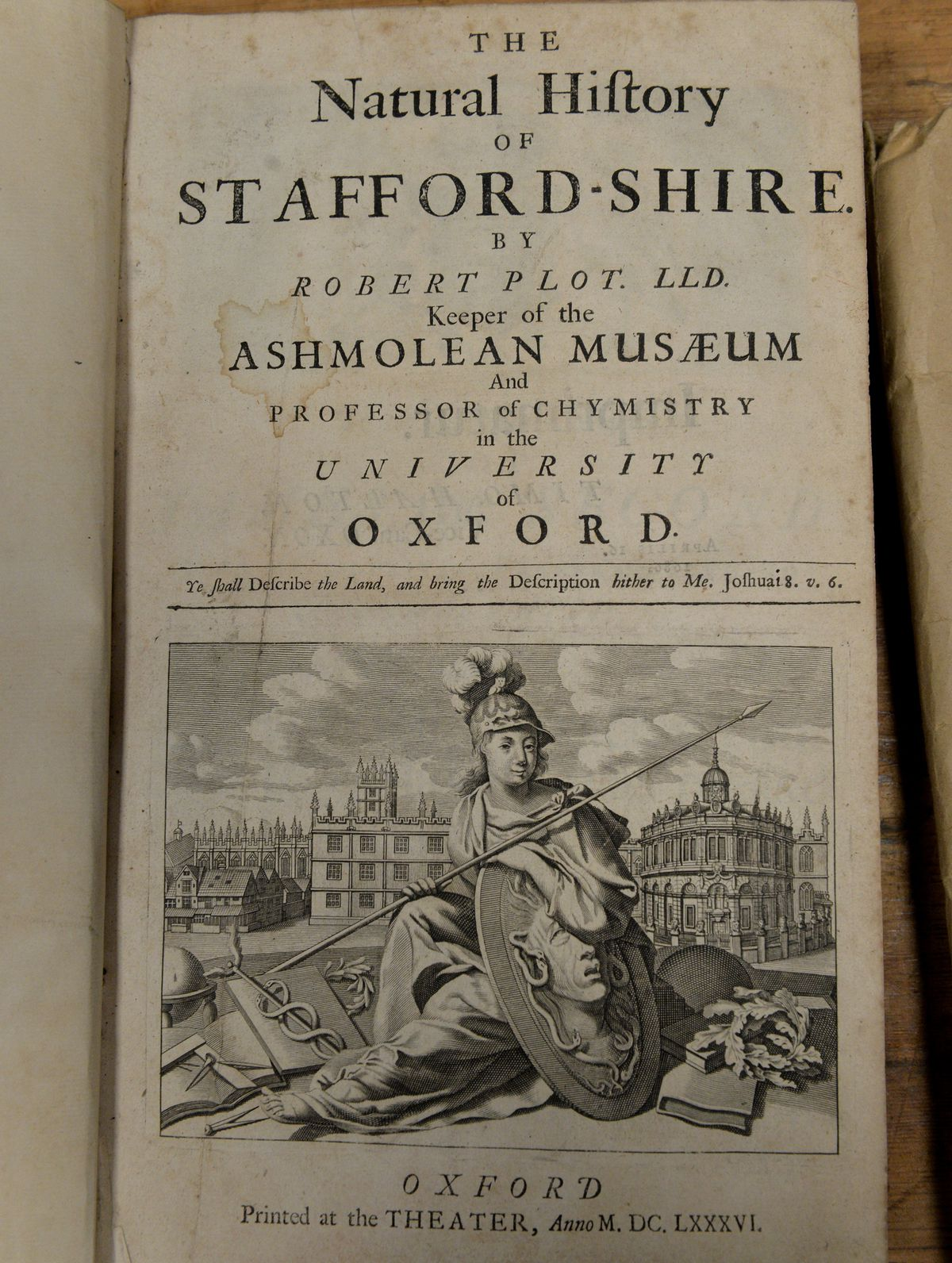 The natural history of Staffordshire from 1686