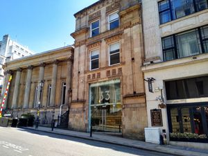 The former Midland Bank headquarters in Bennetts Hill