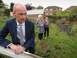 'We feel we are trapped in a nightmare': Home-owners call on MP to help after badgers wreck gardens