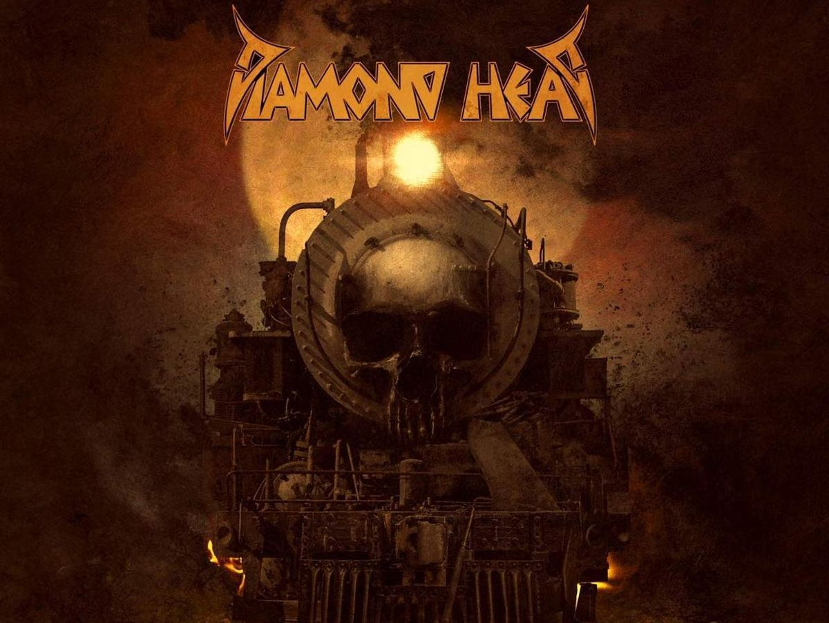 The post-apocalyptic album artwork for The Coffin Train