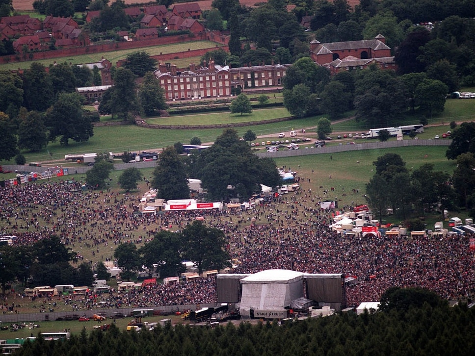 The rise and fall of the V Festival