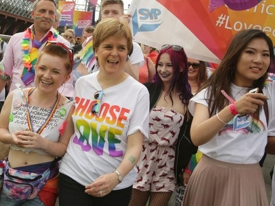 Scottish Government ranked 72nd in list of most LGBT inclusive employers