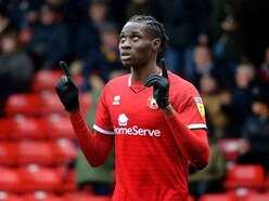 Elijah Adebayo eager to start getting results for Walsall