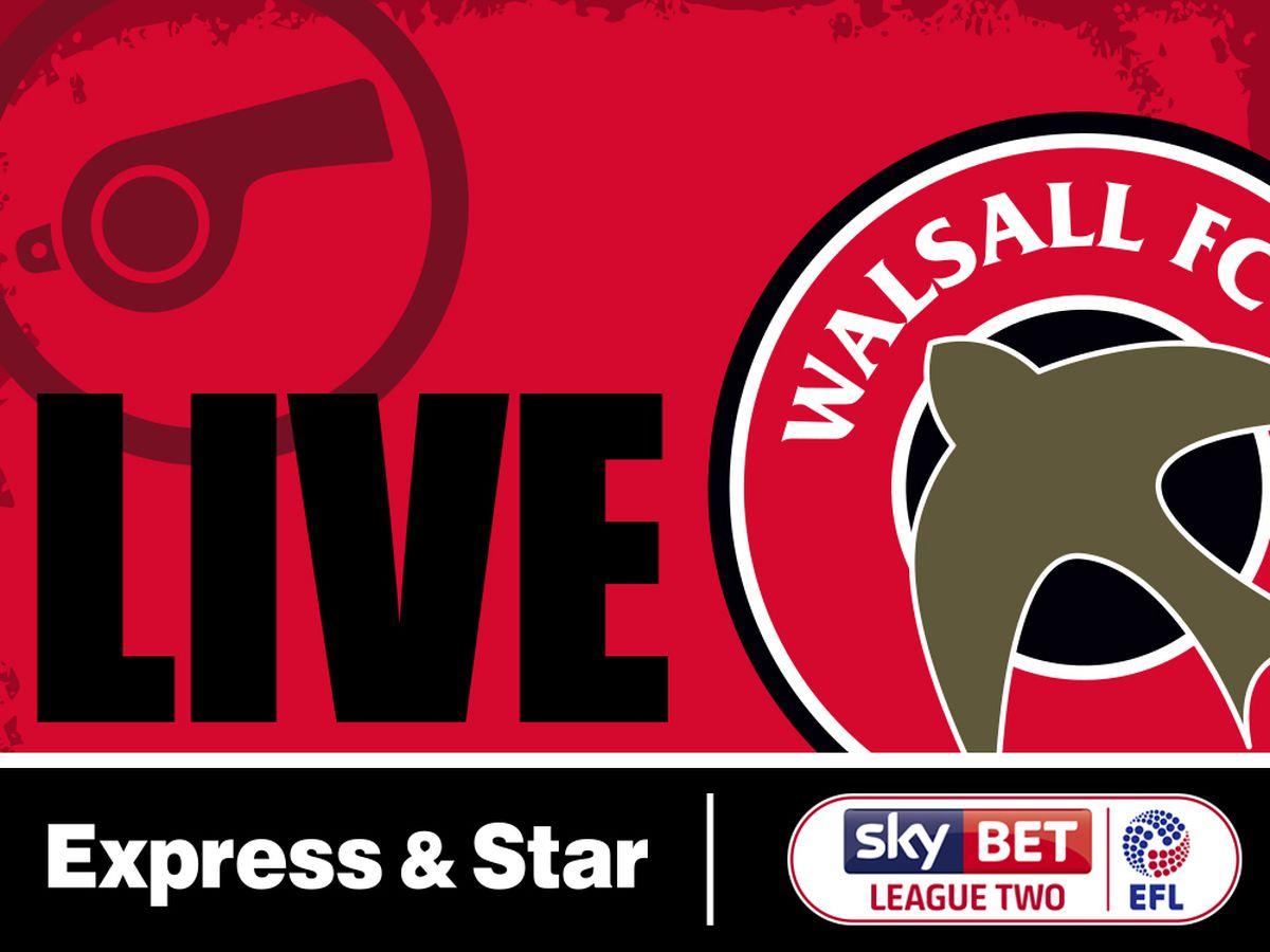 Salford City v Walsall - LIVE