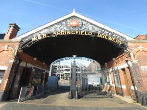 The former Springfield Brewery in Wolverhampton now houses a technical college and university campus