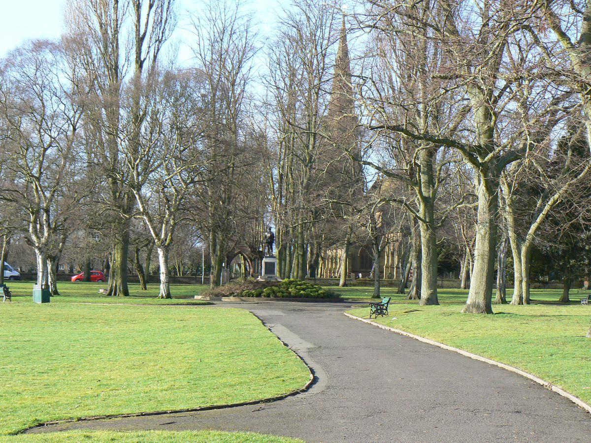 Heath Town Park in Wolverhampton