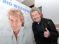 Hundreds turn out for Rod Stewart fan club bash in Walsall
