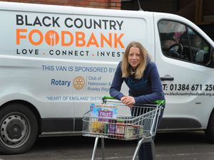Black Country Foodbank chief executive Jen Coleman, at Albion Street, Brierley Hill