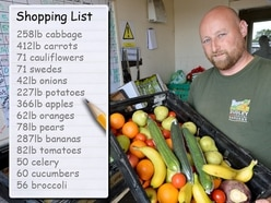 186kg of carrots and 71 cauliflowers: Dudley Zoo's store manager has 1,600 mouths to feed