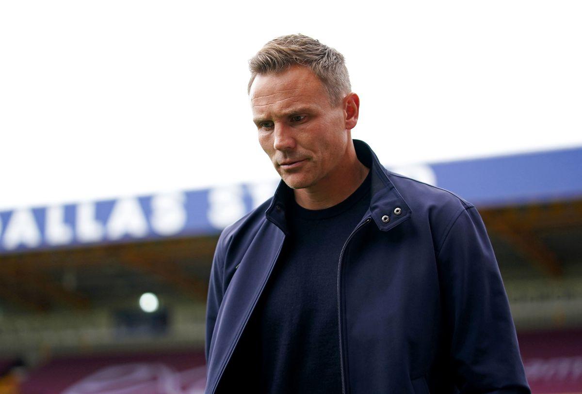 Walsall manager Matt Taylor