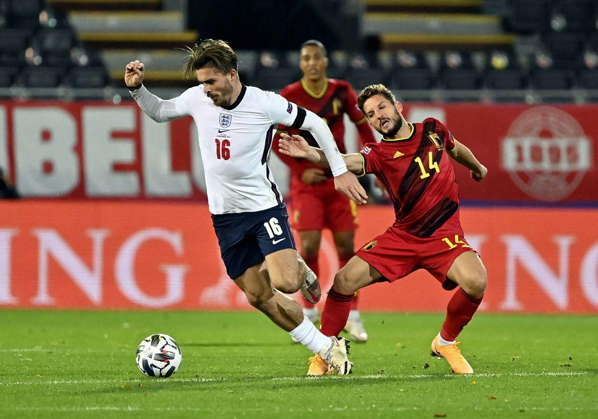 England's Jack Grealish