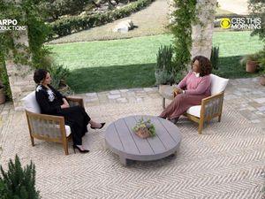 Oprah Winfrey interviews the Duke and Duchess of Sussex