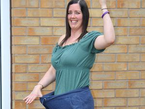 Michelle Mills from Willenhall has lost two stone during lockdown
