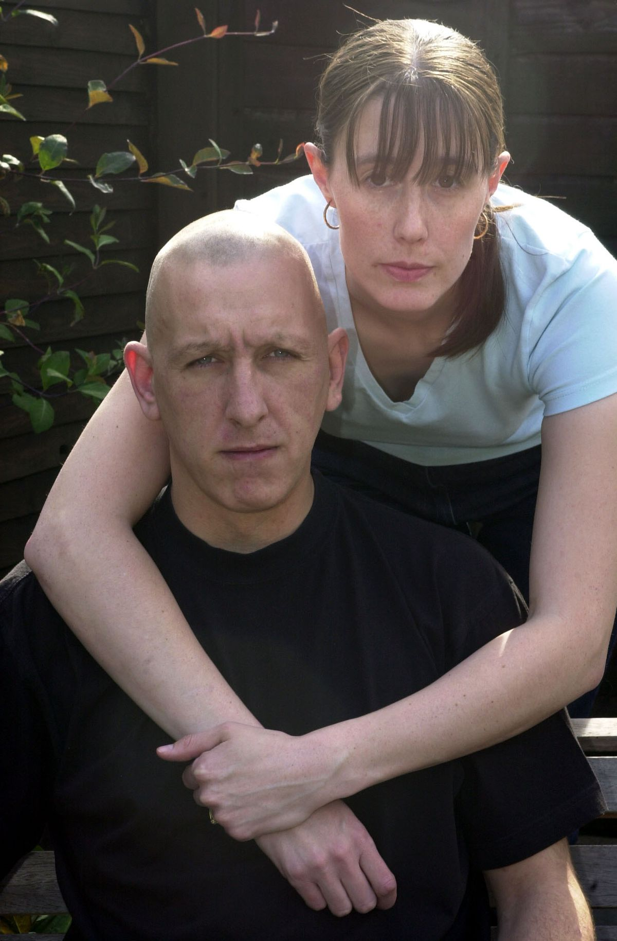 Debbie and Darren Fellows pictured in 2002